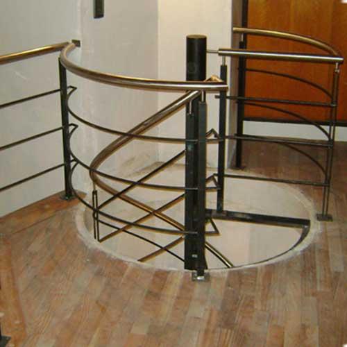 Pasamanos de hierro para escaleras baranda de acero - Baranda de hierro ...