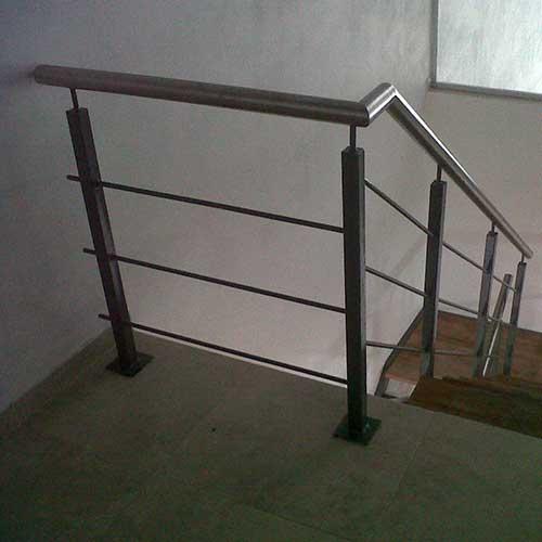 Barandas de acero inoxidable para escaleras zona oeste - Barandas para escaleras de hierro ...