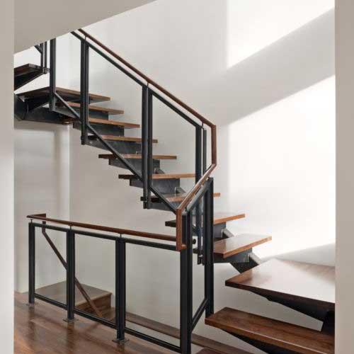 Barandas para escaleras de hierro amazing barandas en - Baranda de hierro ...