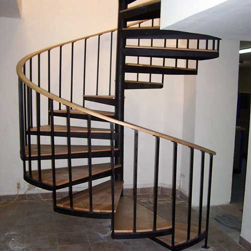 Escaleras de caracol de madera para interiores escalera - Escaleras de caracol de madera ...