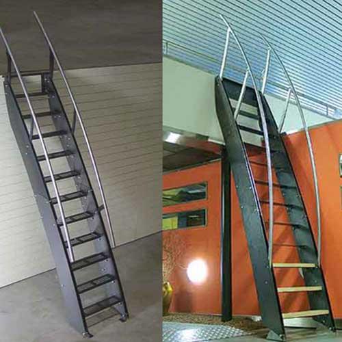 Escaleras marineras zona oeste zona norte pilar moreno for Escaleras en poco espacio